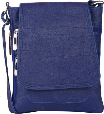 Prettyvogue Girls Blue PU Sling Bag