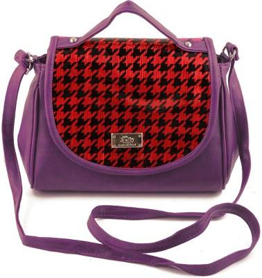 Chalissa Girls, Women Purple PU Sling Bag