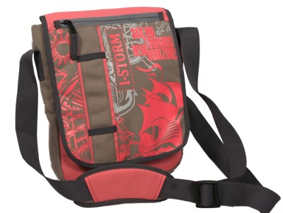 Istorm Boys, Girls Casual Pink Polyester Sling Bag