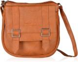 Felicita Women Khaki PU Sling Bag