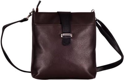 Hawai Women Casual Brown PU Sling Bag