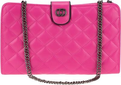 Kaos Girls, Women Pink PU Sling Bag