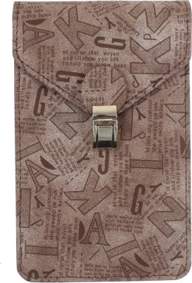 Dooda Women Brown Leatherette Sling Bag