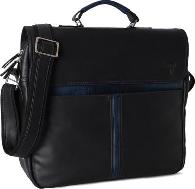 Baggit Men Black Rexine Sling Bag