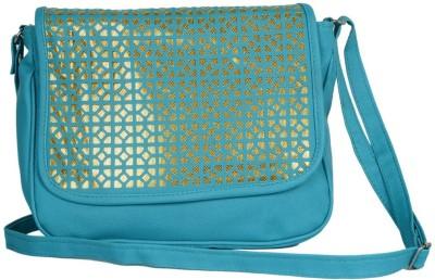 Murcia Women Blue PU Sling Bag