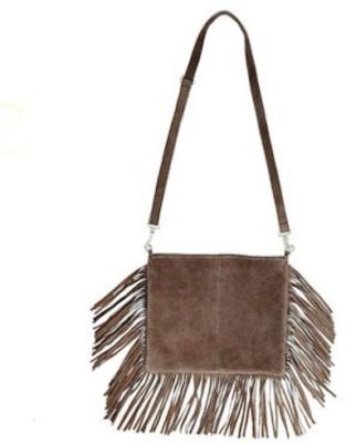 Tiara Women Maroon Leatherette Sling Bag