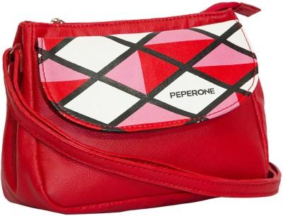 Peperone Girls, Women Red PU Sling Bag