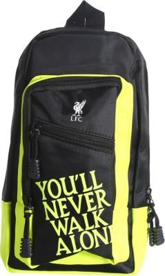 Liverpool FC Men, Women Black Polyester Sling Bag