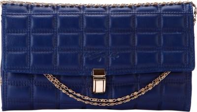 The Zoya Life Girls, Women Blue PU Sling Bag