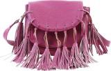 Remanika Women Pink PU Sling Bag