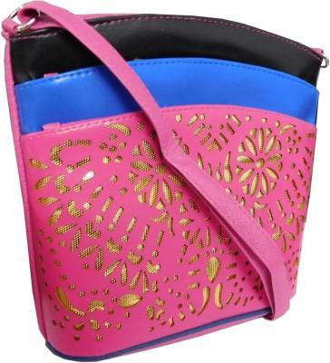 Samco Fas Girls, Women Brown Rexine Sling Bag