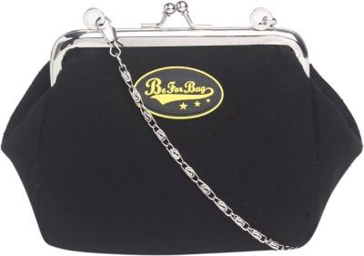 Be for Bag Women Black Cotton Sling Bag