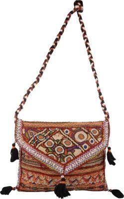 Arisha kreation Co Women Multicolor Cotton Sling Bag