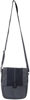 Reve Boys Casual Black Leatherette Sling Bag