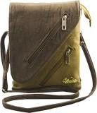 Voaka Women Brown PU Sling Bag