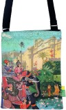Eco Corner Women Pink Cotton Sling Bag