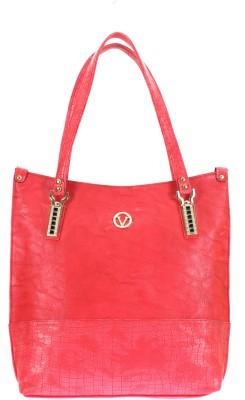 velina Women Maroon PU Shoulder Bag