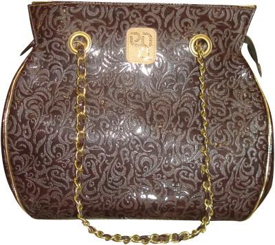 PNA Women Casual Brown PU Sling Bag