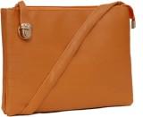Borse Women Tan PU Sling Bag