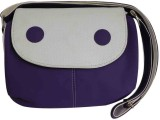 Laviva Women Purple Polyester Sling Bag
