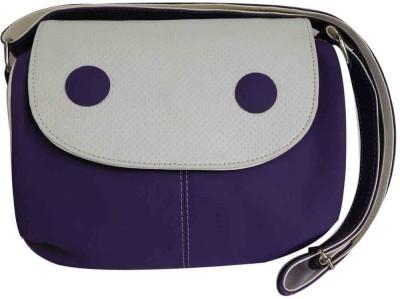 Laviva Women Purple Polyester Sling Bag