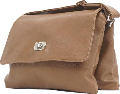 Igypsy Girls, Women Brown Leatherette Shoulder Bag