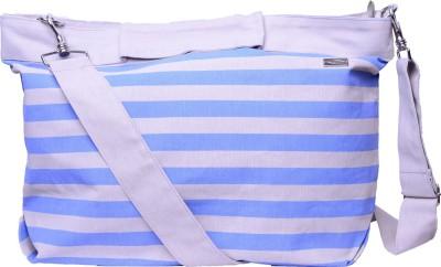 Kohl Girls, Women Casual Blue, Grey Canvas Sling Bag