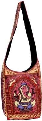 Amazing India Girls Casual Multicolor Cotton Sling Bag