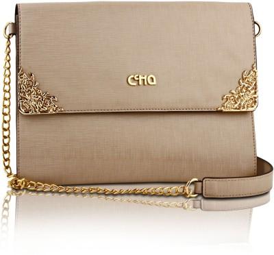 Ccha Girls Beige PU Sling Bag