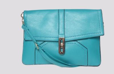 Hot Berries Women Casual Green Leatherette Sling Bag
