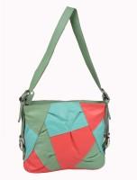 Glety Women Multicolor Genuine Leather Sling Bag