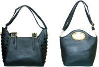 velina Girls Black PU Shoulder Bag