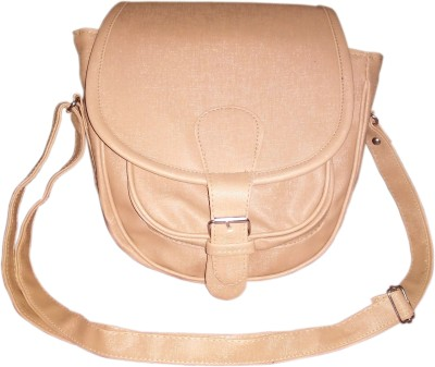MADASH Girls Brown PU Sling Bag