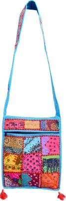 Ruff Girls, Women Multicolor Cotton Sling Bag