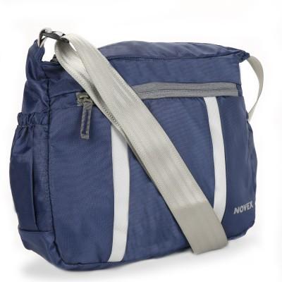Novex Boys, Girls, Women Blue Nylon Sling Bag