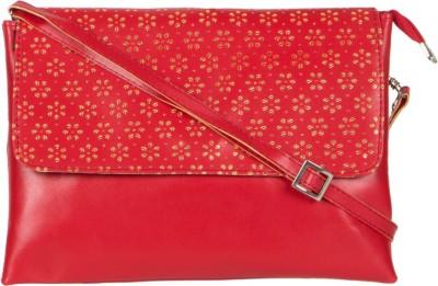 MTE Girls Red PU Sling Bag