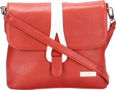 Starz Women, Girls Red, White PU Sling Bag