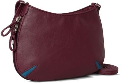Baggit Women Maroon Rexine Sling Bag