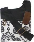 Bhamini Women Black Cotton Sling Bag