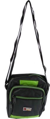 Bagathon India Girls Casual Green Cotton Sling Bag