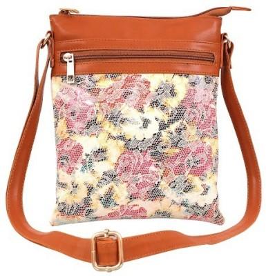 Lychee Bags Women Multicolor PU Sling Bag