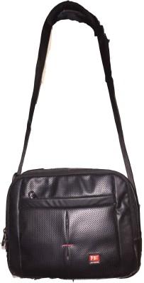 FBI-Fabco Bag Industry Boys Black Leatherette Sling Bag