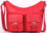 Cecille Women Red Genuine Leather Sling ...