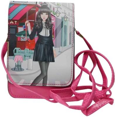 Laviva Women Pink PU Sling Bag