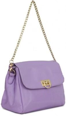 Penguin Women Casual Purple PU Sling Bag