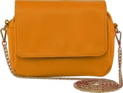 ToniQ Girls, Women Orange Polyester Sling Bag