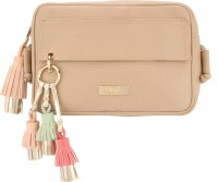 D'oro Women Pink Leatherette Sling Bag