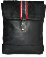 GREENFIELDS Men & Women Tan, Black, Brown Genuine Leather Sling Bag