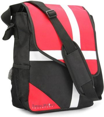 Swiss Military Men & Women Red, Black Messenger Bag