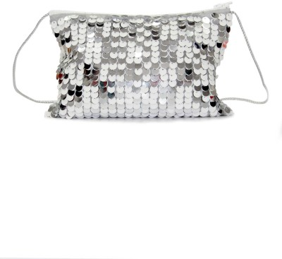 The Cranberry Club Girls Grey Polyester Sling Bag